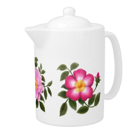English Rose Garden Teapot
