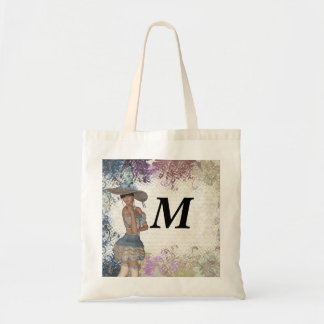 English rose romantic girl canvas bags