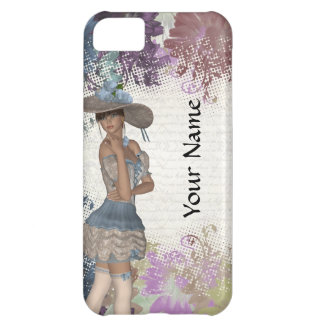 English rose romantic girl iPhone 5C cover