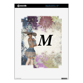 English rose romantic girl skins for iPad 2