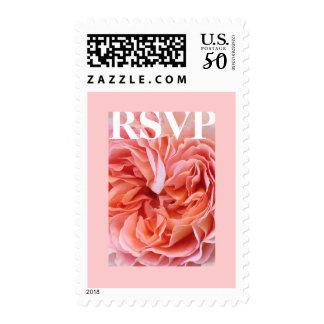 English Rose RSVP Postage