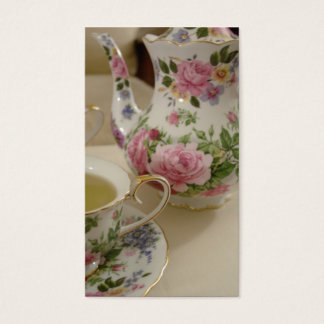 English Rose Tea Business Card