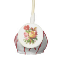 English Rose Tea Party Cake Pops, Party Favors