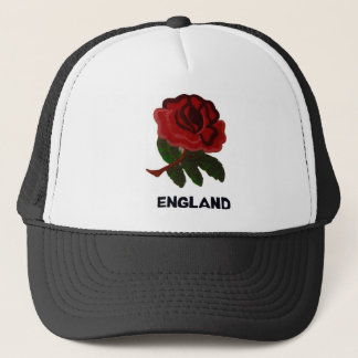 English rose trucker hat