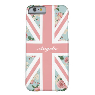 English Roses Union Jack Flag Barely There iPhone 6 Case