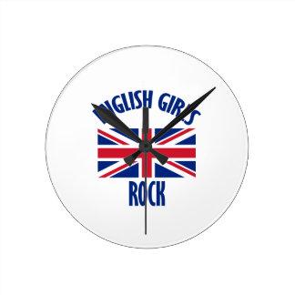 ENGLISH ROUND CLOCK