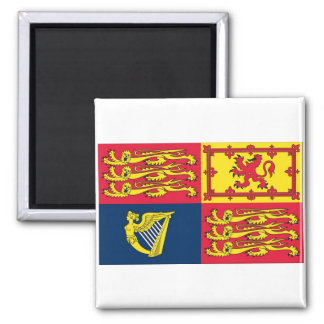 English Royal Standard 2 Inch Square Magnet