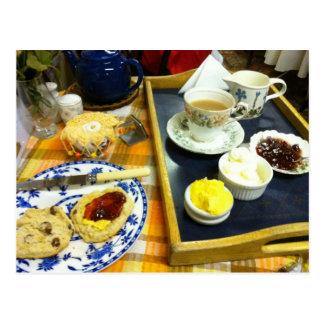 English Scenes, Afternoon Cream Tea 1 Postcard