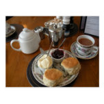 English Scenes, Afternoon Cream Tea Postcard