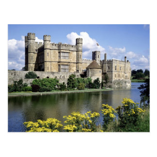 English Scenes, Leeds Castle, Kent Postcard