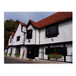 English Scenes, The Old Bell, typical English Inn Post Cards