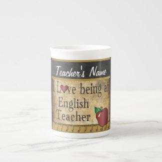 English School Teacher Unique Vintage Style Tea Cup