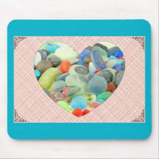 English Sea Glass Mouse Pad
