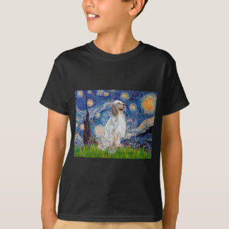 English Setter 1 - Starry Night T-Shirt