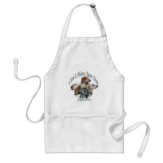 english setter Can't Have Just One apron