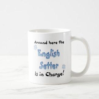 English Setter Charge Coffee Mug