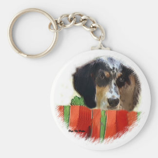 English Setter Christmas Gifts Keychain