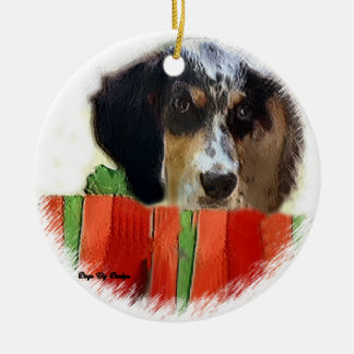 English Setter Christmas Gifts Ornament