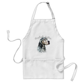 English Setter Dad 2 Adult Apron