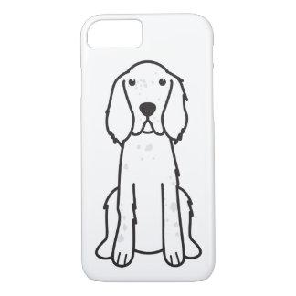 English Setter Dog Cartoon iPhone 8/7 Case