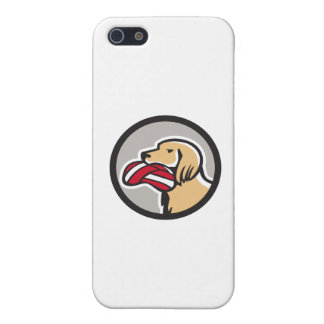 English Setter Dog Head Deflated Volleyball Circle iPhone SE/5/5s Case