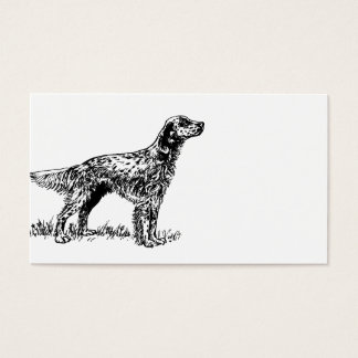 english setter drawing.png business card