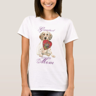 English Setter Heart Mom T-Shirt