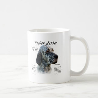 English Setter History Design Mug