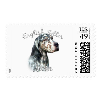 English Setter Mom 2 Postage Stamps