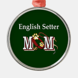 English Setter Mom Gifts Metal Ornament