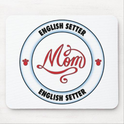 English Setter mom Mouse Pad