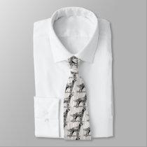 english setter neck tie