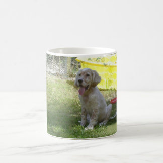 english setter orange_belton_puppy.png coffee mug