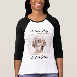 English Setter (Orange Belton) T-Shirt