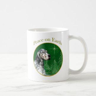 English Setter Peace Coffee Mug