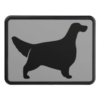 English Setter Silhouette Hitch Cover