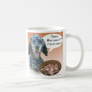 English Setter Turkey Coffee Mug
