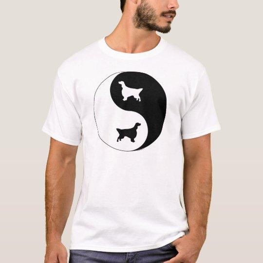 English Setter Yin Yang T-Shirt
