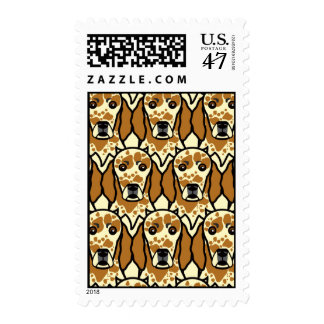 English Setters Stamp