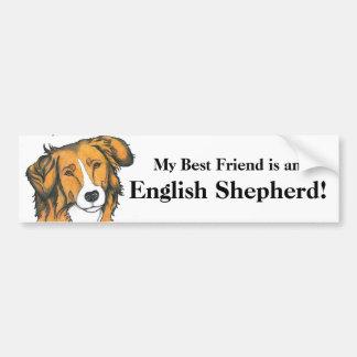 English Shepherd Bumper sticker