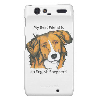 English Shepherd Droid RAZR cover