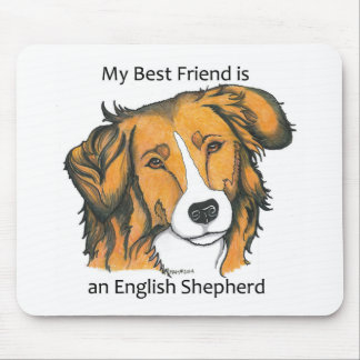 English Shepherd gifts - sable Mouse Pad
