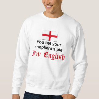 English Shepherd's Pie 3 Pull Over Sweatshirt