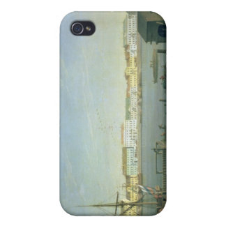 English Shore Street in St Petersburg, 1790s Covers For iPhone 4