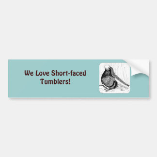 English Shortfaced Bald 1978 Bumper Sticker
