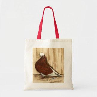 English Shortfaced Bald Pigeon Tote Bag