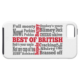 English slang on the St George's Cross flag iPhone SE/5/5s Case