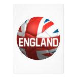 English Soccer Ball Custom Invite