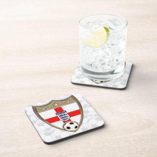 English Soccer Beverage Coaster