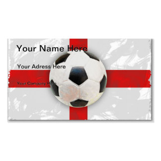 English Soccer Business Card